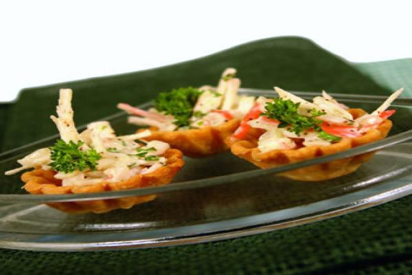 Crab Tarts