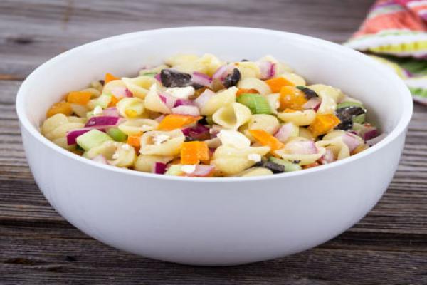 Cilantro Pesto Rigatoni Salad