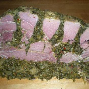 Stuffed Ham