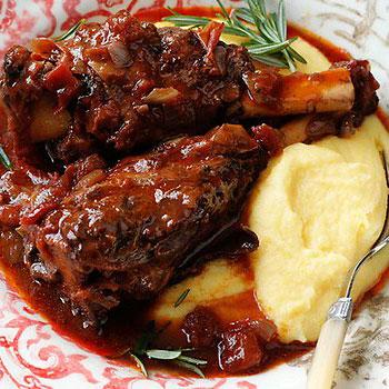 Braised Rosemary Lamb