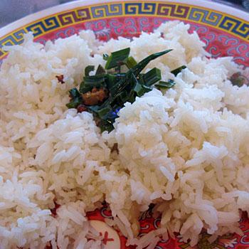Jasmine Rice with Coconut Sauce