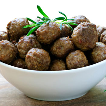 Meatballs with Ginger & Pineapple