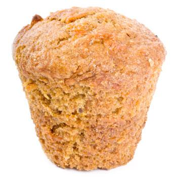 Extra Fiber Carrot Muffins