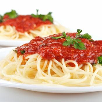Quick Spaghetti with Tomato Sauce