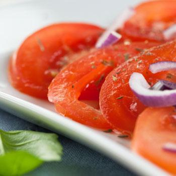 Earthy Tomato Salad