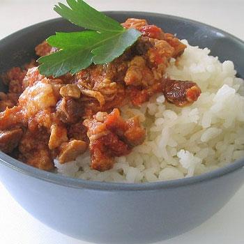 Rice & Beef a la Espanola