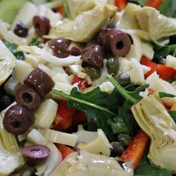 Mediterranean Crab Salad