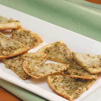 Pesto Pita Appetizers