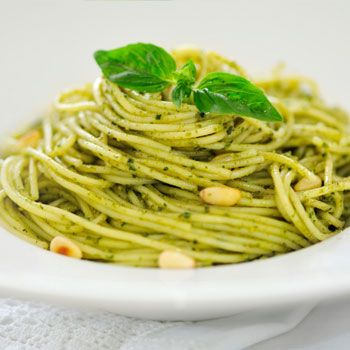 Angel Hair with Pesto