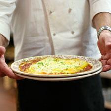 Baked Manicotti in Ragu alla Bolognese