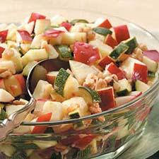 Zucchini & Apple Salad