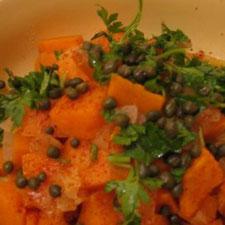 Sweet Potato Salad, Moroccan Style