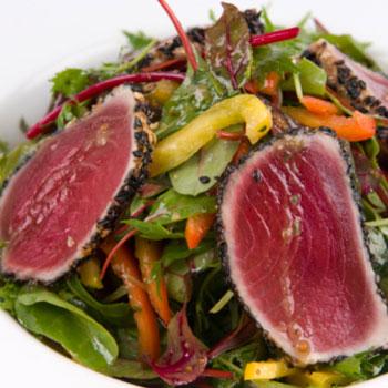 Warm Citrus Tuna Salad