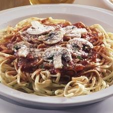 Heart Healthy Spaghetti & Mushroom