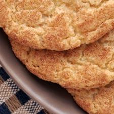 Kids' Cinnamon Coated Cookies