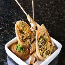 Beef & Chicken Satay