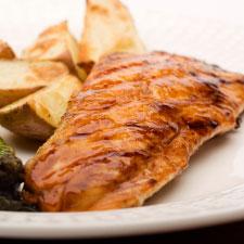Deluxe Spicy Glazed Salmon