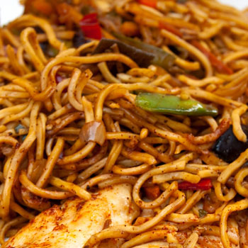 Thai-Style Spaghetti
