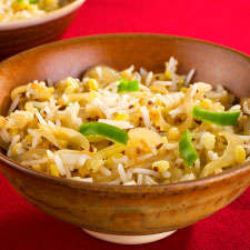 Rice Pilaf with Celery & Lemon