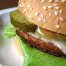 Falafel Turkey Burgers