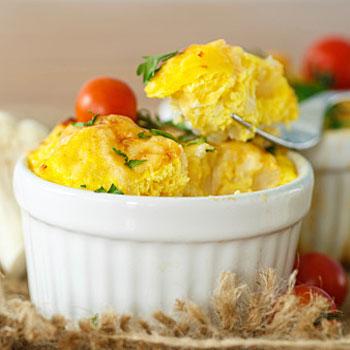 Appetizing Egg Casserole