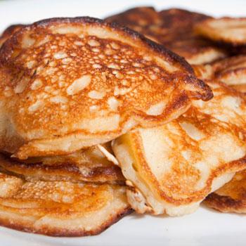 Farmer's Apple Pie Pancakes