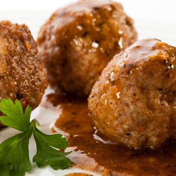 Fondue Meatballs