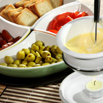 Choose Your Dip Cheese Fondue