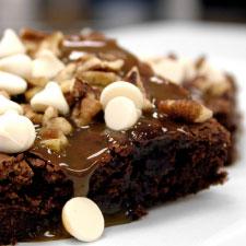 Crispy Chocolate Brownies