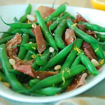 Green Beans & Prosciutto