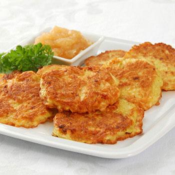 Cauliflower-Potato Pancakes