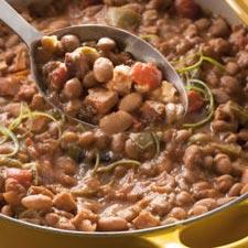 Cool Pinto Bean Puree