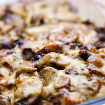 Mushroom Fondue