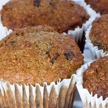 High-Fiber Bran Muffins