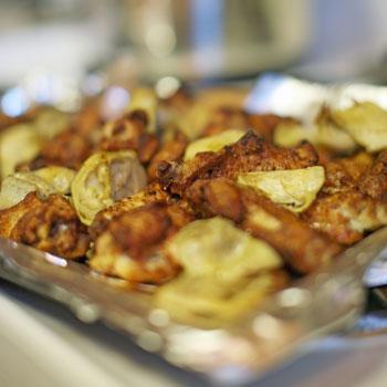 Chicken with Artichokes & Potatoes
