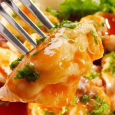 Ravioli with Tomato and Artichoke Sauce