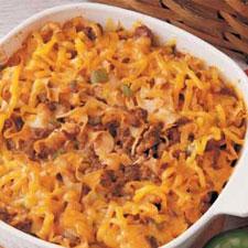 Meat & Noodle Casserole