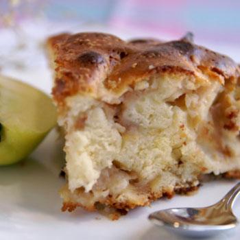 Onion & Apple Cake