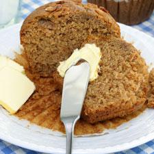 Cholesterol-Free Oat Bran Muffins
