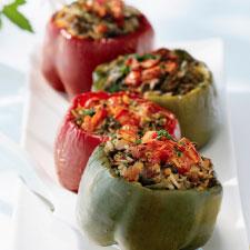 Simply Succulent Stuffed Bell Pepper