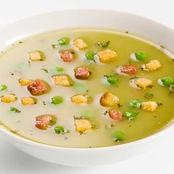 Italian Pea and Basil Soup