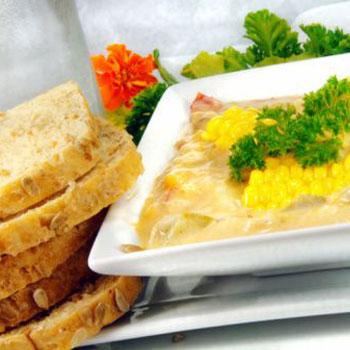 Corn and Chicken Chowder