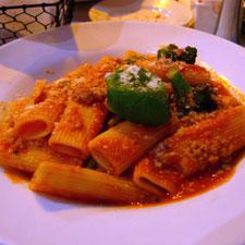 Tomato-Cheese Sauce & Rigatoni