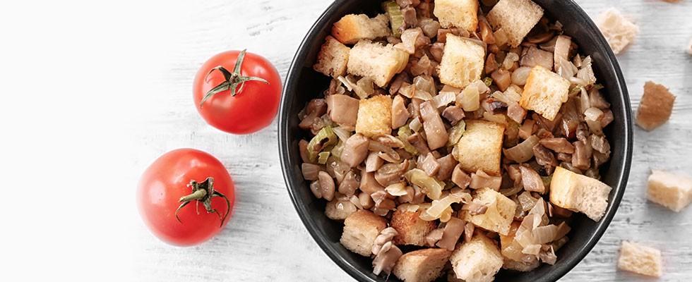 Heart-Healthy Mushroom-Herb Stuffing
