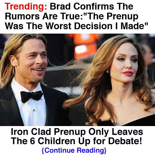 Brad Pitt Confirms The Rumors Are True