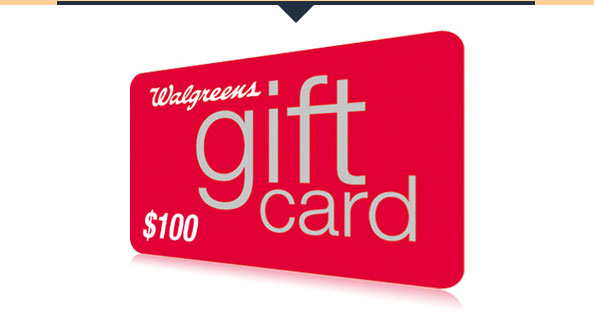 Walgreens Gift Card!