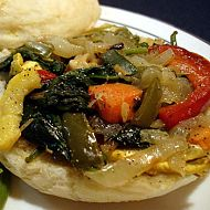 Greek Veggie Sandwich
