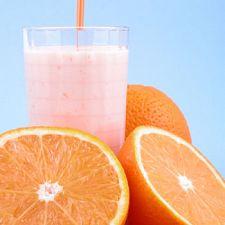 Homemade Orange Dreamsicle Smoothie